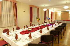 Table set for a party Stock Photography