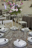 Table set for party Stock Images