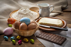 Preparing Easter sweets Royalty Free Stock Photos