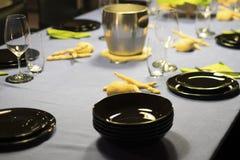 Table settin dish Stock Photography