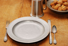 Table Setting for 1 Royalty Free Stock Image
