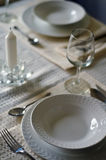 Table Setting Stock Image