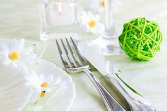Table setting Stock Photography