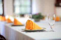 Table setting Stock Photo