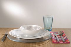 Table setting Royalty Free Stock Photo