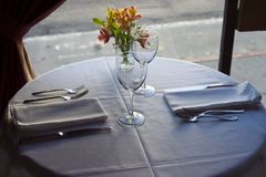 Table Setting 4 stock photos