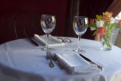 Table Setting 5 Royalty Free Stock Photo
