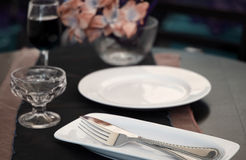 Free Table Setting Royalty Free Stock Photography - 5584587