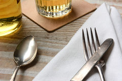 Table Setting Closeup Royalty Free Stock Photo