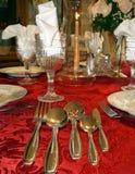 Table setting elegant  Stock Photos