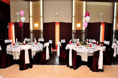 Table setting - party Royalty Free Stock Photos