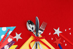 Table setting for party Royalty Free Stock Images