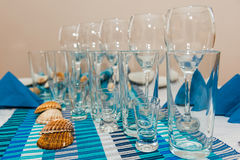 Table setting Royalty Free Stock Photography