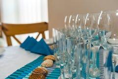 Table setting Stock Image