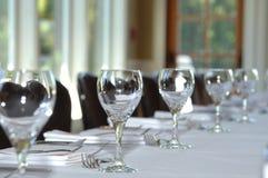 Table setting at wedding Royalty Free Stock Photo