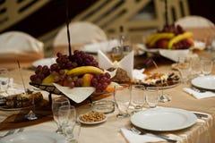 Table setting - Wedding Royalty Free Stock Image
