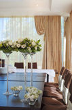 Table setting for an wedding reception Stock Image