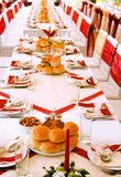 Table settings Royalty Free Stock Image