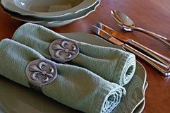 Table Settings Stock Image