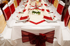 Table settings Royalty Free Stock Photography