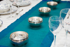 Table settings Royalty Free Stock Photo