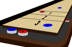 Table shuffleboard Stock Photography