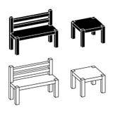 Dessin simple de table image libre de droits image 34921036 for Table 3d dessin