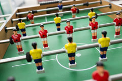 Table soccer. Game Royalty Free Stock Photos