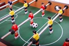 Table soccer royalty free stock image