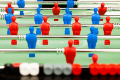 Table soccer figures Stock Images