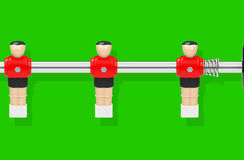 Table soccer figures Royalty Free Stock Photos