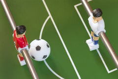 Table soccer Stock Image