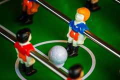 Table Soccer or Football Kicker Game Royalty Free Stock Photo
