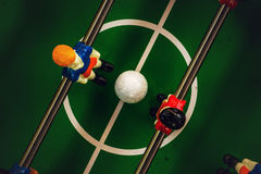 Table Soccer or Football Kicker Game Royalty Free Stock Photography
