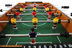 Table soccer game Stock Photo