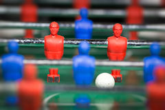 Table soccer player figurines football Royalty Free Stock Image