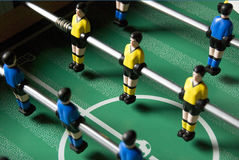 Table soccer players Stock Images