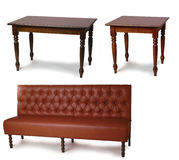 Table and sofa Stock Photos