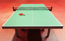 Table - Table tennis Royalty Free Stock Images