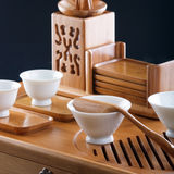 Table for tea ceremony Royalty Free Stock Images