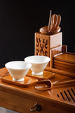 Table for tea ceremony Royalty Free Stock Photo