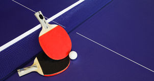 Table tennis. Is one of the sports events in the world Royalty Free Stock Photography