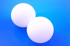 Table Tennis Balls Royalty Free Stock Image