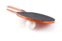 Table tennis bat. Stock Photo