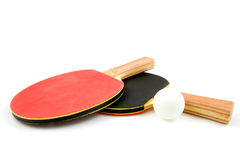 Table tennis bat Stock Image