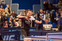 Table tennis competitions Royalty Free Stock Photography