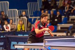 Table tennis competitions Royalty Free Stock Images