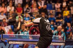 Table tennis competitions Stock Photo