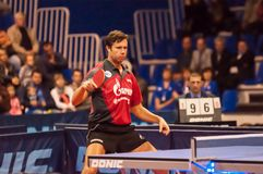Table tennis competitions Stock Photography