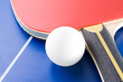 Table tennis equipment 4 Stock Photos